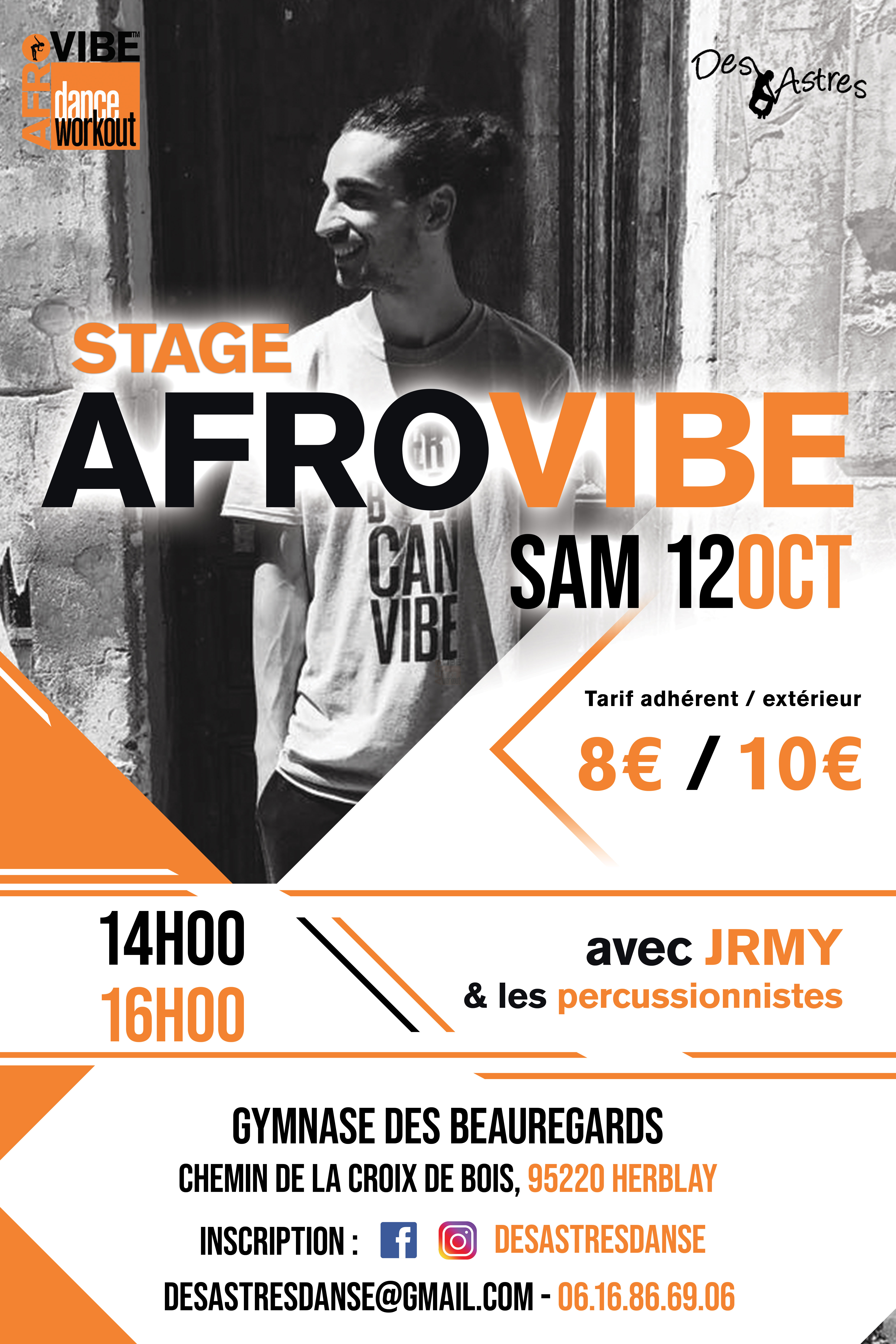 stage afrovibe des astres